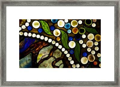 Circles Of Glass Framed Print by Christi Kraft