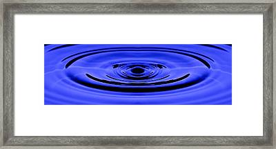 Framed Print featuring the photograph Circles Of Serenity by Steven Santamour