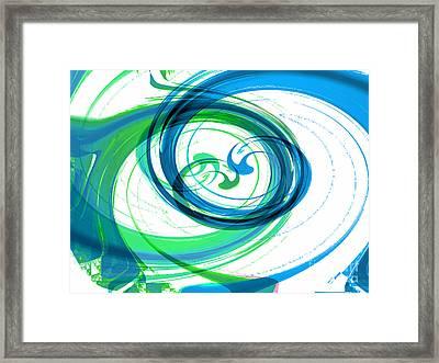 Circling Grace 1 Framed Print