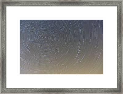 Circling Polaris Framed Print by Tim Grams