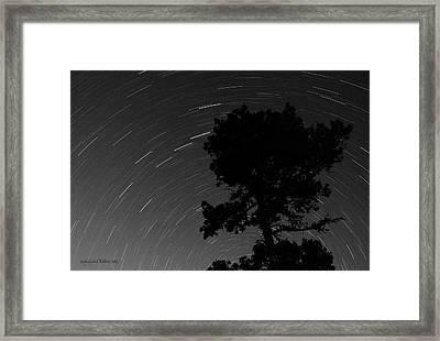 Circling Stars Framed Print by Aleksander Rotner