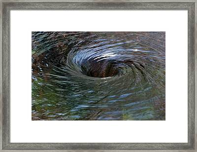Circling Framed Print by Wendy Wilton