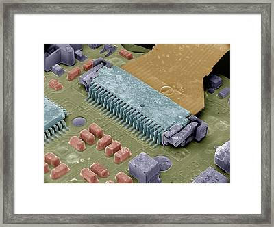 Circuit Board Framed Print