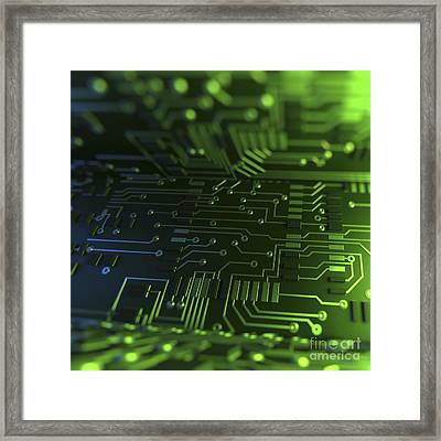 Circuit Boards Framed Print by Science Picture Co