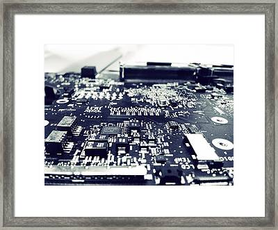 Circuit Framed Print by James Bradley