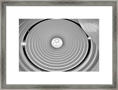 Circular Dome Framed Print