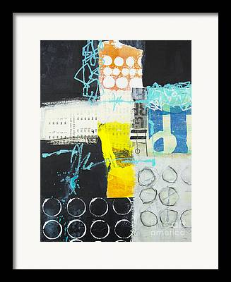 Trowing Mixed Media Framed Prints