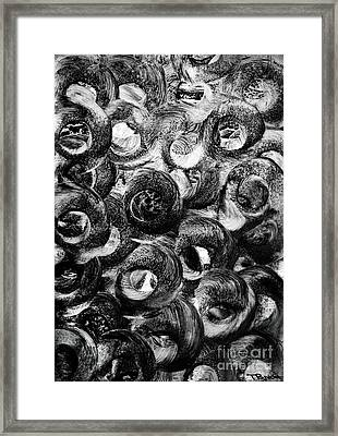 Circular Motion Blur Art - Tisha Framed Print by Simon Bratt Photography LRPS
