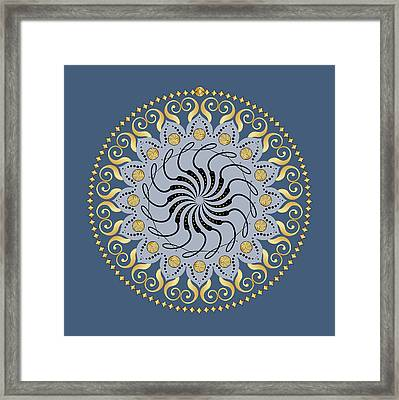 Circularity No. 1032 Framed Print