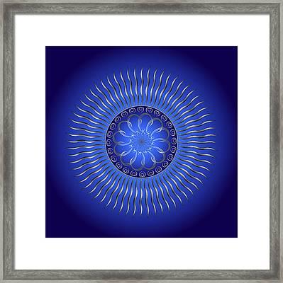Circularity No. 1336 Framed Print by Alan Bennington