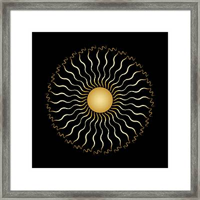 Circularity No. 1506 Framed Print