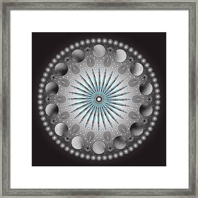 Circularity No. 152 Framed Print