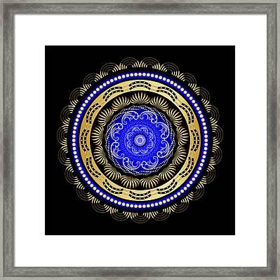Circularity No. 493 Framed Print