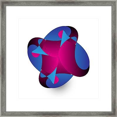 Circularity No. 850 Framed Print