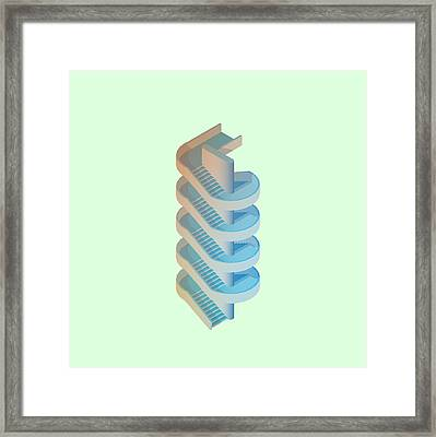 Circulation Framed Print by Peter Cassidy