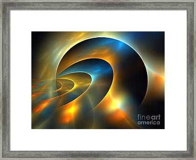 Circumbinary Framed Print