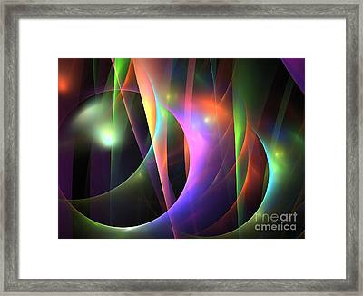 Circumference Framed Print by Kim Sy Ok