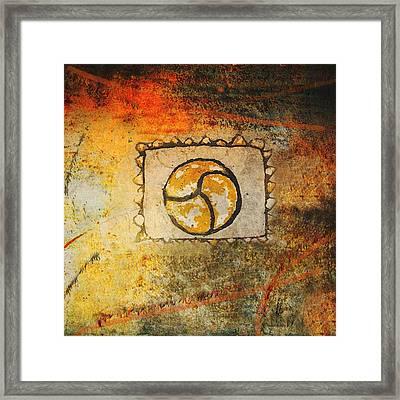 Circumvolve Framed Print by Kandy Hurley