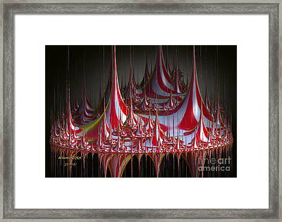 Circus-circus Framed Print by Melissa Messick