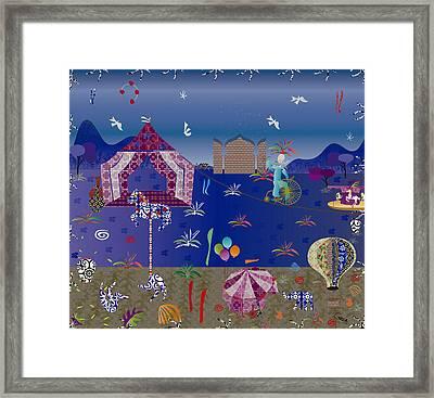 Circus Framed Print