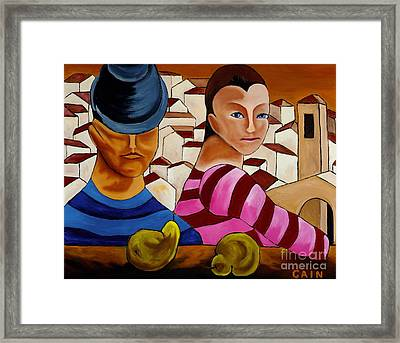 Circus Gypsies   Framed Print by William Cain