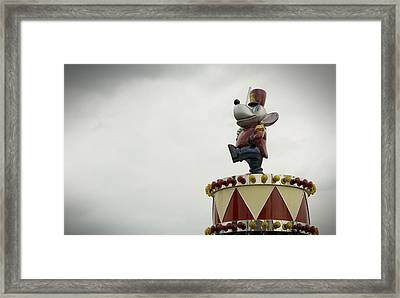 Circus Mouse Framed Print