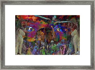 Solar Mind Framed Print