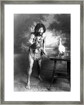 Circus Performer Chief Pantagal Framed Print by American Philosophical Society