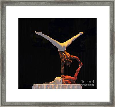 Cirque Framed Print by Cindy Lee Longhini