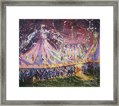 Cirque Magic Framed Print