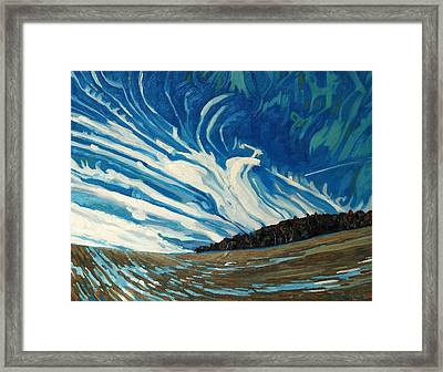 Cirrus Fingers Framed Print by Phil Chadwick