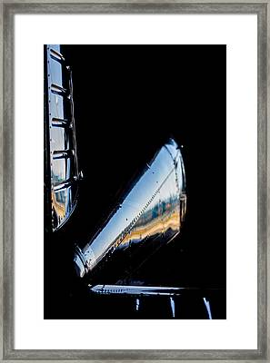 Cirrus In A Hanger Framed Print by Paul Job