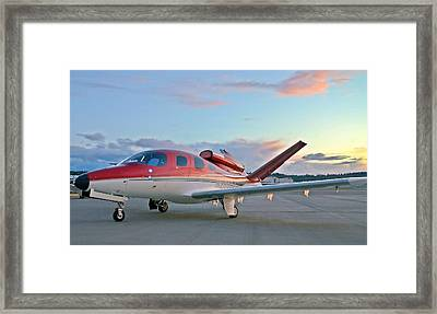 Cirrus Vision Sf50 Framed Print by Jeff Cook