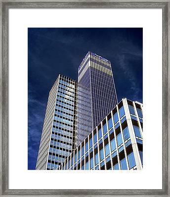 Cis Building Framed Print by Martin Bond