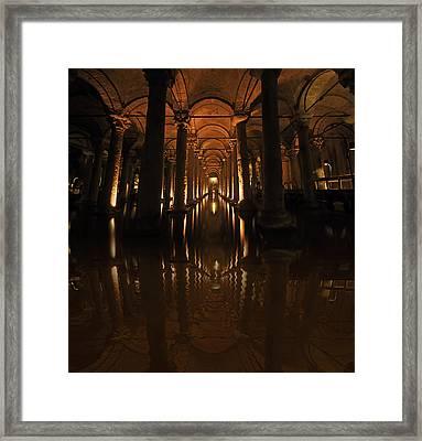 Cisterna Basilica Framed Print by Ivana Miletic