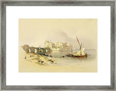 Citadel Of Sidon Framed Print