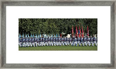 Return To Ranks Framed Print