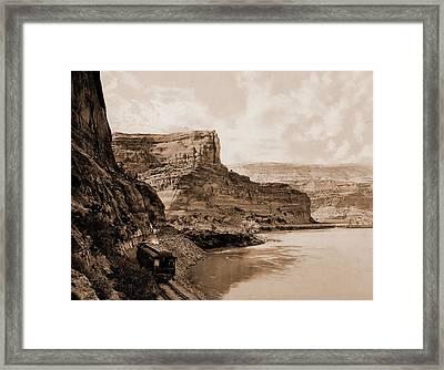 Citadel Walls, Canon Of The Grand, Utah, Jackson, William Framed Print