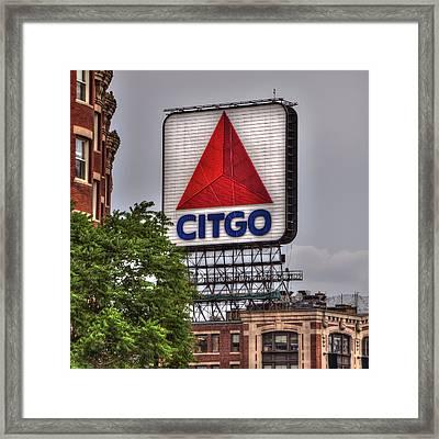 Citgo Sign - Boston Framed Print