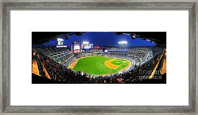 Citi Field And The New York Mets Framed Print