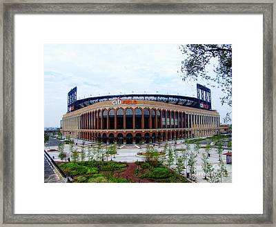 Citi Field Baseball Stadium Framed Print