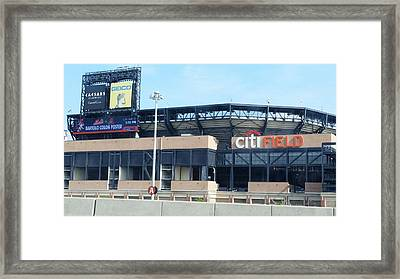 Citibank Field Framed Print