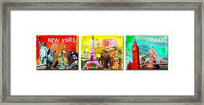 Cities Framed Print