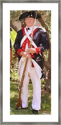 Citizen Soldier Nbr 1 Framed Print by Will Barger