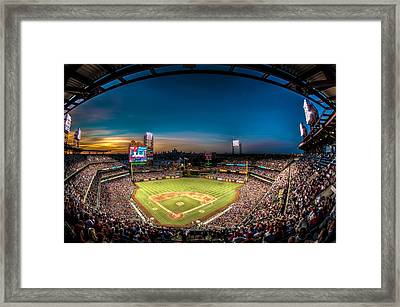 Citizens Bank Park Framed Print