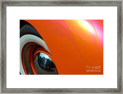 Framed Print featuring the photograph Citrus Shine by Christiane Hellner-OBrien