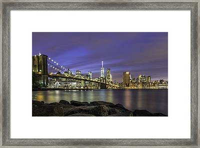 City 2 City Framed Print