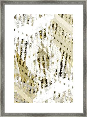 City 3 Framed Print