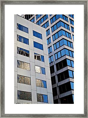 City Abstract Framed Print