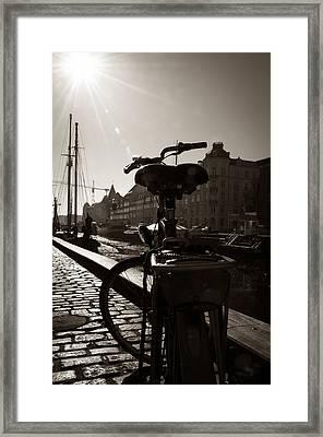 City Adventures Framed Print by Alicia Garcia Monedero